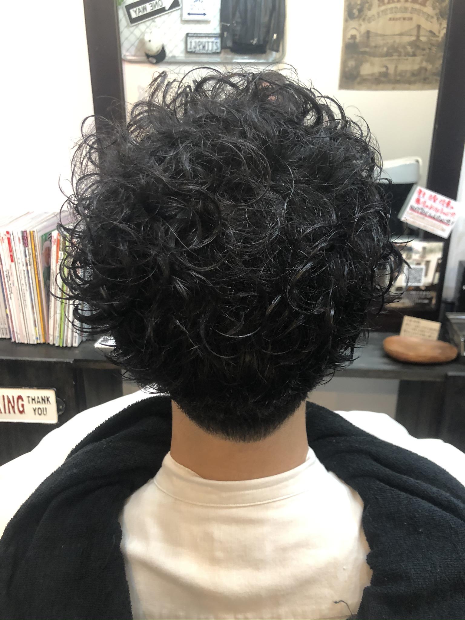 クセ毛を活かす。